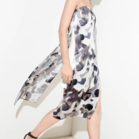 32ae8878a6938 Helmut Lang Dresses & Skirts - Helmut Lang Strapless Silk Column Dress  Crypsis